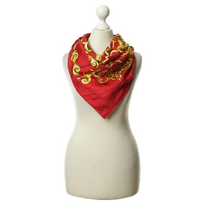 Gianni Versace Silk scarf print