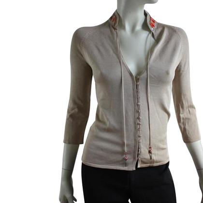 Karen Millen Champagne vest. Size 2