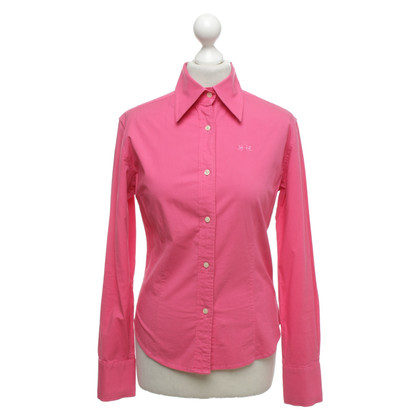La Martina Blouse met overhemd in roze