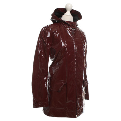 Lacoste Wine red raincoat