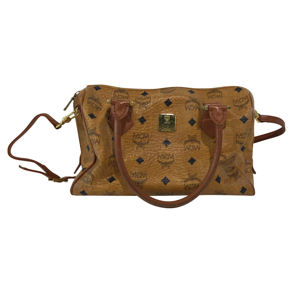 MCM Handbag with monogram pattern
