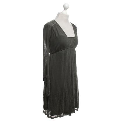 Hoss Intropia Kleid in Dunkelgrün
