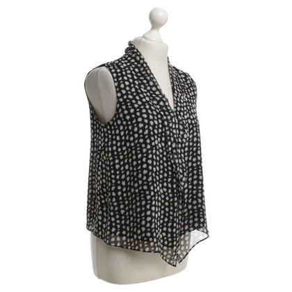 Armani Collezioni Top with polka dots