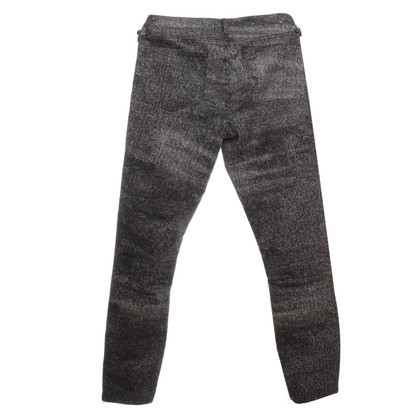 Helmut Lang Jeans in bianco e nero