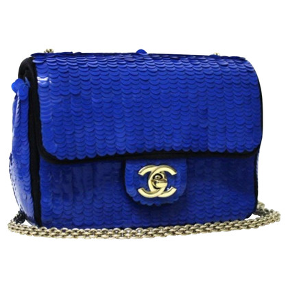 "Chanel ""Classic Flap Bag Mini"" with sequins"
