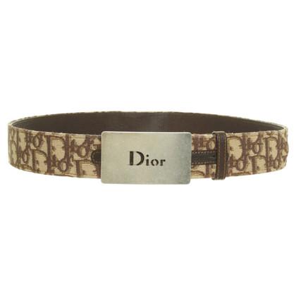 Christian Dior Cintura con modello di logo
