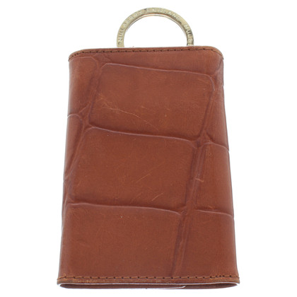 Mulberry Key case in Brown