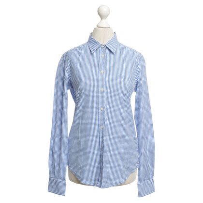 Gant Blouse with plaid pattern