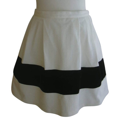 Christian Lacroix skirt in black and white