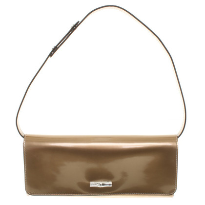 Longchamp Gold color clutch