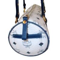 MCM leather studded  MCM barrelbag