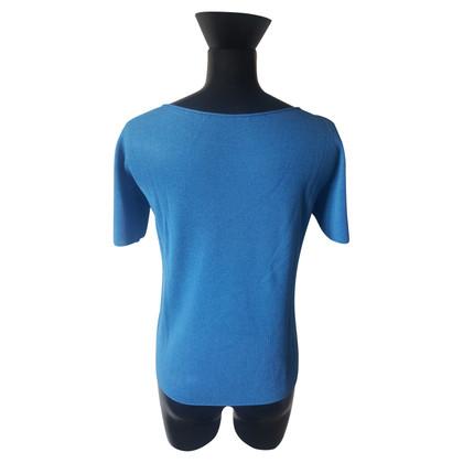 Prada Korte mouwen trui in turkoois blauw