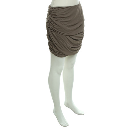 Roberto Cavalli skirt in taupe