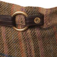 Ralph Lauren Checkered skirt wool