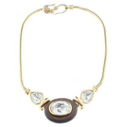 Yves Saint Laurent Gold-colored necklace