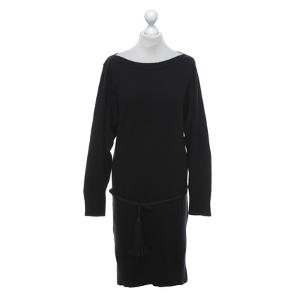 Hermès Cashmere dress in black