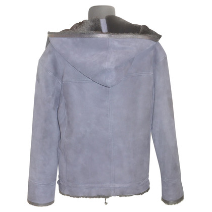 Isabel Marant Lambskin jacket with hood