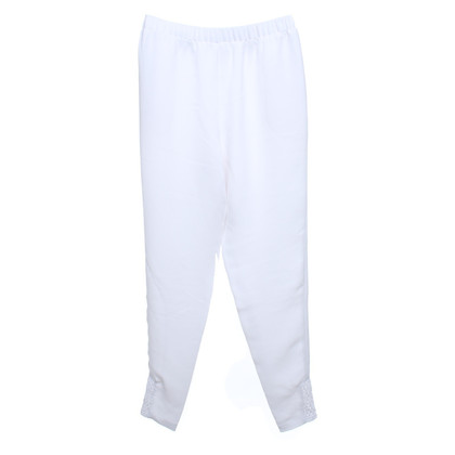 Alice + Olivia trousers in white