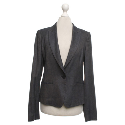 Hugo Boss Blazer in Grau/Blau