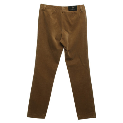 Aigner Pantaloni a Brown