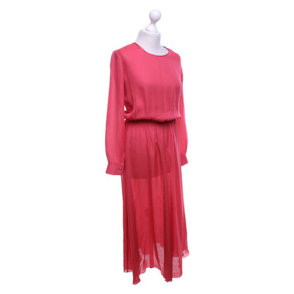 Forte Forte Silk dress in red-pink