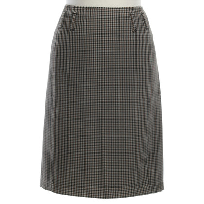Prada skirt with check pattern