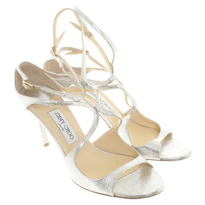 Jimmy Choo sandales couleur argent