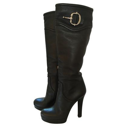 Gucci Stivali di pelle Gucci