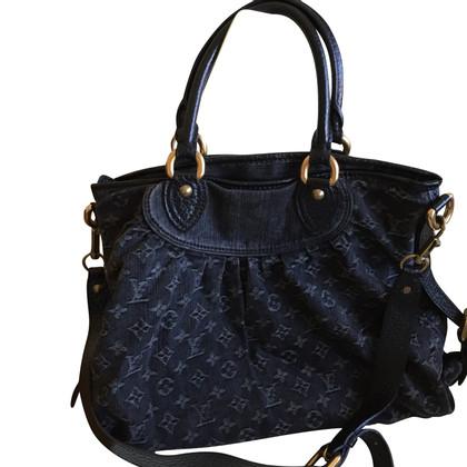 Louis Vuitton Handtasche aus Monogram Denim