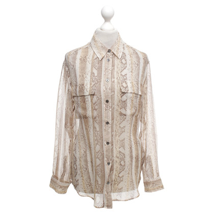 Equipment Bluse mit Muster
