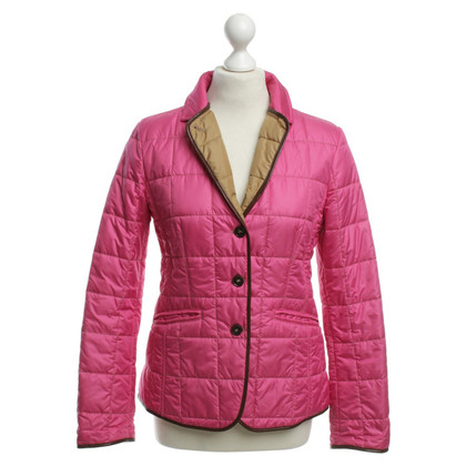 Mabrun Quilted Jacket in pink