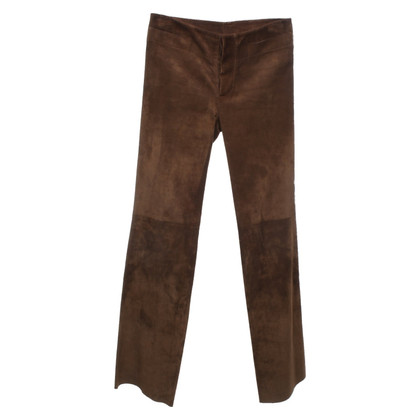 Gucci Leather pants in brown