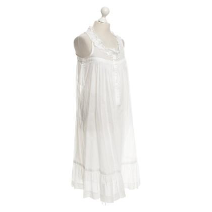 Isabel Marant Etoile Katoenen jurk in wit