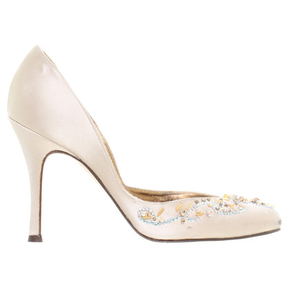 Blumarine pumps con perline
