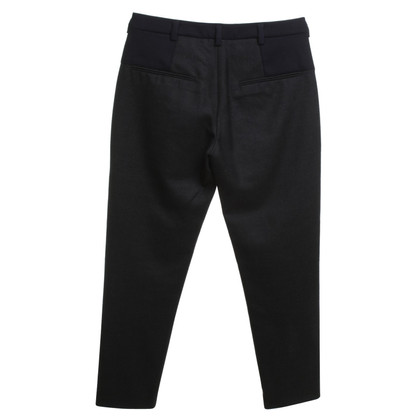 Marni trousers in grey / blue