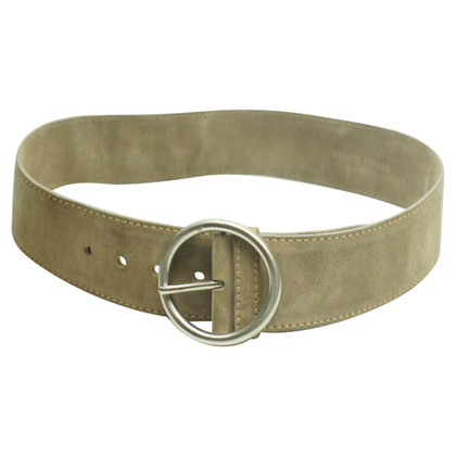 Miu Miu Waist belt in taupe