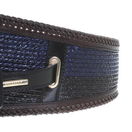 Burberry Prorsum Taillengürtel in Schwarz/blau