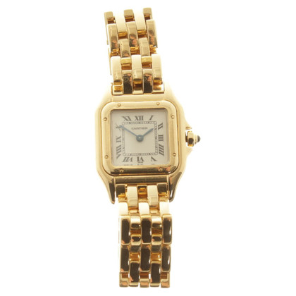 Cartier orologio Panthère in oro giallo