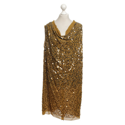 By Malene Birger Abito con paillettes in oliva