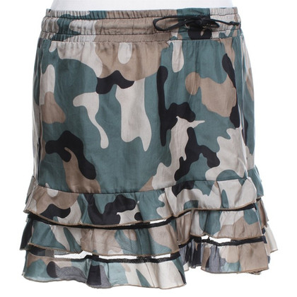Pinko Gonna corta in look militare