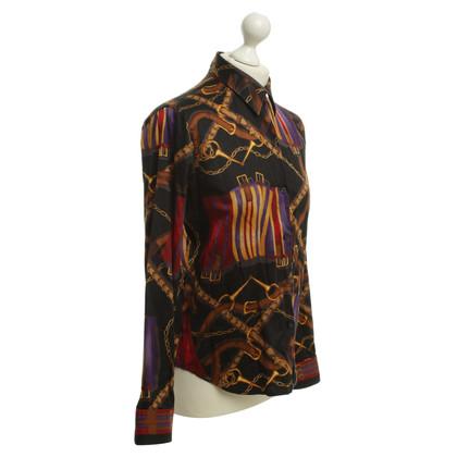 Ralph Lauren Shirt blouse with bridle pattern