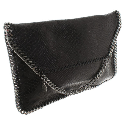 Stella McCartney clutch collegamento con la catena ornamento