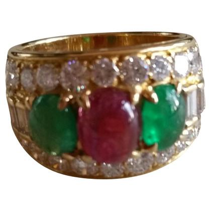 Bulgari Vintage Ring in 18K geel goud