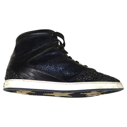 Jimmy Choo for H&M glitter sneakers