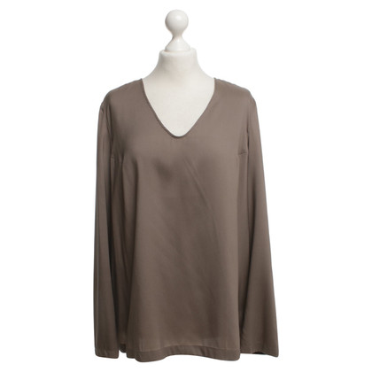 Brunello Cucinelli Blusa in taupe