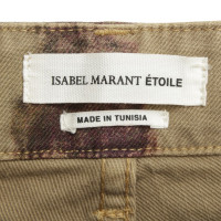 Isabel Marant Jeans with batik pattern