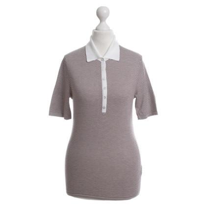 Iris von Arnim Maglia fine a righe polo shirt