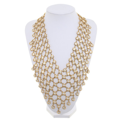 Christian Dior Gold colored necklace