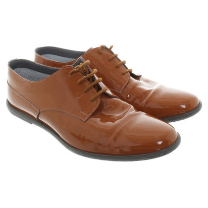 Marc Cain Veterschoenen patent leather