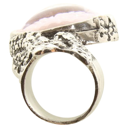 """Yves Saint Laurent Ring """"Arty"""" in silver"""
